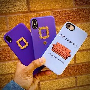 3 DESIGNS FRIENDS Fans iPhone Cases Couch Peephole